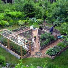 Amazing Backyard Garden Ideas with Inspirations Pictures (54)