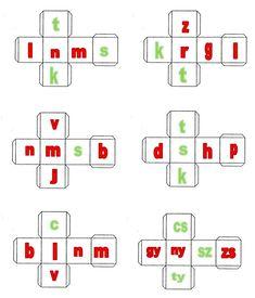 Betűkockák a Meixner-módszerhez Matching Worksheets, Addition Worksheets, Preschool Worksheets, Printable Worksheets, Math For Kids, Diy For Kids, Preschool Weather, Addition Games, Dysgraphia