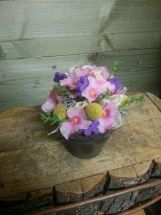 biedermeier met nep bloemetjes #onlinebloemen