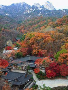 Bukhansan Mountain, Seoul, Korea