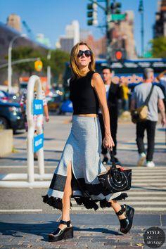 New York SS 2017 Street Style: Marina Larroude