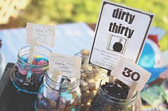 Great ideas for a 30th Birthday party!!