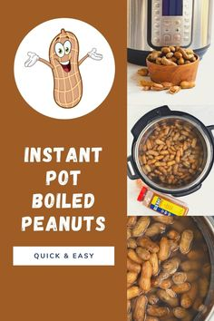Instant Pot boiled peanuts in the shell are a southern snack served traditionally in a brown paper bag that has a salty and sometimes spicy delicious flavor.