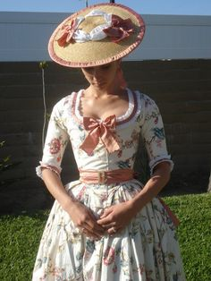 Chintz Gown Upgraded by ~Lady-Lovelace