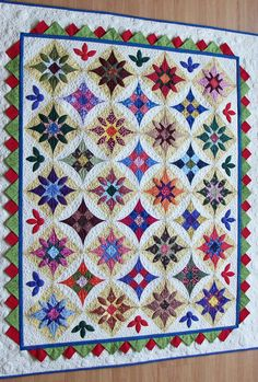 Fiesta - I love the colors in this quilt.