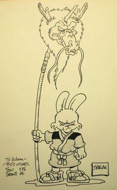 Usagi Yojimbo Akira, Comic Book Artists, Comic Books, Ninja Uniform, Usagi Yojimbo, Lucky Luke, Fursuit, Teenage Mutant Ninja Turtles, Drawing For Kids