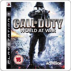 PS3 Call Of Duty World At War R$74.90