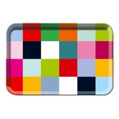 Coloured trays, multiple colours