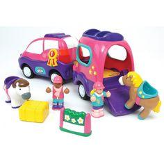 Poppy a lószállító autó, Poppy's Pony Adventure 18 hónapos kortól - Wow Toys