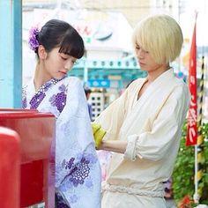 """小松菜奈 x 菅田将暉 (映画、溺れるナイフ)。★Nana Komatsu x Masaki Suda in the J movie """"Oboreru Knife"""" (English title: Drowning Love) is a manga series first published in 2004 filmed & released on Nov Japan. Japanese Couple, Japanese Drama, Japanese Girl, Best Fashion Photographers, Komatsu Nana, Princess Jellyfish, Kawaii Phone Case, Japanese Models, Drama Movies"""