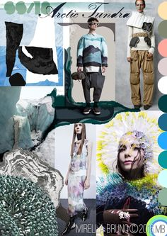 Inspiration Information - © Mirella Bruno Print Trend Designs 2016. Directions…