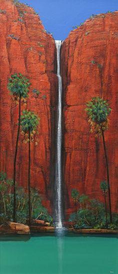 ingrid windram Landscape Art, Landscape Paintings, Landscapes, Abstract Watercolor, Watercolor Paintings, Watercolor Flowers, Watercolour, Waterfall Paintings, Acrilic Paintings