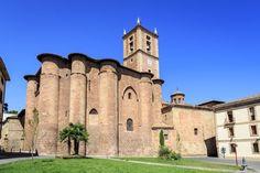 Le monastère de Santa Maria la Real à Nájera