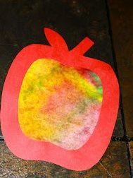 Herfst knutsel maken: herfst appels knutselen - Plazilla.com