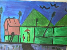 The House of Green by Cambodian child.