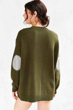 BDG Elbow Patch Sweater - Urban Outfitters