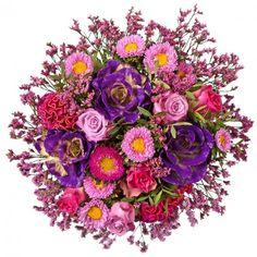 """Pflanzen-Kölle Blumenstrauß """"Warmherzig"""".  Ein warmherziger, üppiger Blumengruß in herrlicher Farbkombination – das perfekte Präsent für jede Gelegenheit. Blumendeko zaubert flugs ein wohnliches Interieur in Euer Zuhause, verströmt einen tollen Duft und wird Euch sicher lange Freude bereiten."""