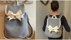 Crochet Backpack by Kate Eastwood on the LoveCrochet blog