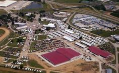 The grounds at the Clark County Fairgrounds...it's huge - and will be filled with fab vendors for Extravaganza AND the Vintage Marketplace!  A map is helpful!!