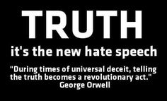 truth-george-orwell-1984   THE ROAD TO CONCORD