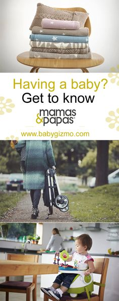 Having a baby? Get to know Mamas & Papas! They have fabulous strollers, high chairs, play mats, boosters, toys and more! #baby #babyregistry #musthaves