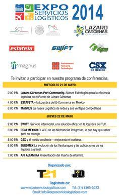 Expo Servicios Logísticos 2014 | Del 21 al 23 de Mayo de 2014 | Monterrey, Nuevo León | Cintermex