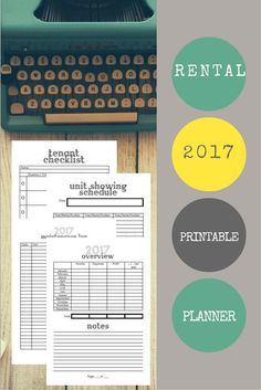Collecting Rental Income is awesome! But being a landlord isn't easy. It's hard enough to keep your own house's finances organized. Make property management easier with this printable planner. Income Property, Rental Property, Investment Property, Investment Advice, Planner Tips, Planner Supplies, Printable Planner Pages, Free Printables, Finance Organization