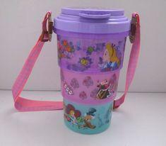 Alice in Wonderland Popcorn Bucket with Strap Tokyo Disneyland Cheshire Cat