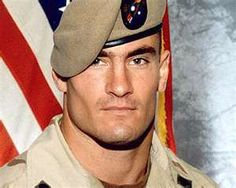 Pat Tillman.  A REAL American Hero!  I had the honor of seeing him play football at ASU - what a class act this man was.