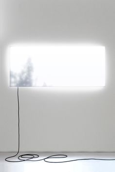 DANIEL RYBAKKEN, DAYLIGHT COMES SIDEWAYS 2007: 1,100 leds simulating natural light with dynamic, artificial shadows.