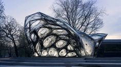 ICD ITKE  Research Pavilion 2013-14. The Institute for Computational Design (ICD) and the Institute of Building Structures and Structural De...