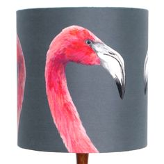 Flamingo Lampshade | Katie & the Wolf | Wolf & Badger