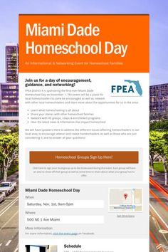 Miami Dade Homeschool Day