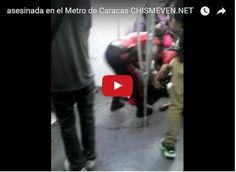 Matan a tiros a una mujer en el Metro de Caracas