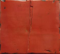Xiaobai Su - Curtain 3, 160 x 180cm, oil and lacquer and linen on a wooden plate 2011