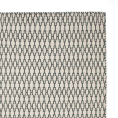 Add style and texture to your living space with the Sisai Rug. Handwoven in India with geometric patterning, the two-toned, reversible Sisai has a 100% cotton warp and a 100% new wool weft. Designed in simple, understated colours, the Sisai Rug will naturally complement modern interiors and provide a sophisticated, cosmopolitan look.   Team with our rug underlay to keep the rug in place and your flooring in good condition. Carpet Stores, Blue Wool, Interior Design Living Room, Blue Grey, Living Spaces, Hand Weaving, House Design, Colours, Rugs