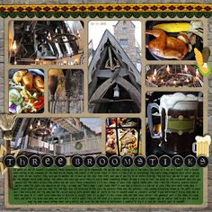 harry potter scrapbook layouts pictures | Wizarding World of Harry Potter - Page 2 - MouseScrappers.com