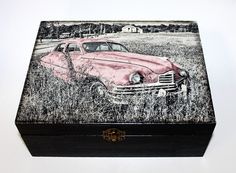 #homedecor #diy #handmade #madeinhome  #projects #gifts #storage #car #oldcar #old  #decoupage #wood #retro #vintage