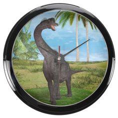 #Dinosaur #Brachiosaurus #Aquarium #Clocks