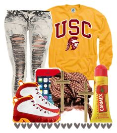 """."" by trillest-queen ❤ liked on Polyvore featuring Carmex, ASOS and Retrò"