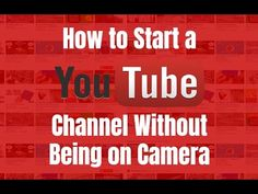 How to start a YouTube channel without being on camera. Go to http://ift.tt/2jcgSmm for video notes related content and helpful resources mentioned.  Let's Connect! Twitter - https://twitter.com/MrJustinBryant  Facebook - http://ift.tt/1LQomnx  Google - http://ift.tt/1PaQTrN  In this video you will learn how to start a YouTube channel without being on camera using 9 different ways. Many people want to start a YouTube channel these days to not only share their knowledge skills or entertain…