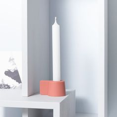 SILLY / Silicone / Dutch Design Candleholder by Puik Art Amsterdam / silicone/candles/candle/candleholder