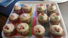 Glücksbringer Muffins, Mini Cupcakes, Desserts, Food, Backen, Meal, Deserts, Essen, Muffin