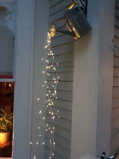 Hanging Patio Lights, Patio Lighting, Accent Lighting, Hanging Plants, Garden Lighting Ideas, Rustic Lighting, Outside Lighting Ideas, Outdoor Chandelier, Decorative Lighting