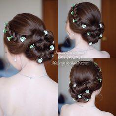 Best Indoor Garden Ideas for 2020 - Modern Wedding Hairstyles Tutorial, Bride Hairstyles, Hairdo Wedding, Wedding Makeup, Editorial Hair, Girl Haircuts, Dream Hair, Hair Dos, Hair Designs