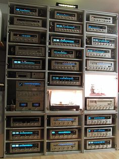 Awesome vintage Marantz collection