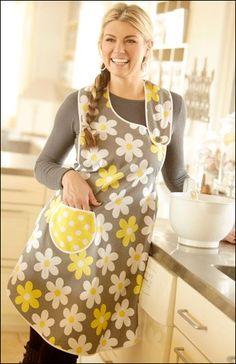 Fabric Friday: Mellow Yellow - Asymmetrical Apron - IJ932