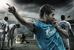 FC Zenit posters and 2011 calendar by Special One / Jara , via Behance