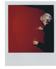 ANDY WARHOL (1928-1987) Self-portrait unique polaroid print 4¼ x 3⅜ in. (10.8 x…