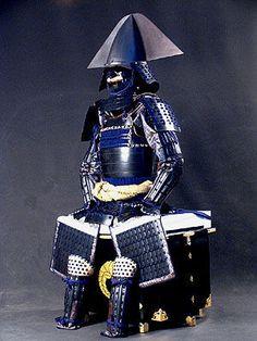 Japanese armor of samurai warlord, Yoshiaki KATO (1563~1631)